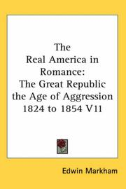 Cover of: The Real America in Romance | Edwin Markham