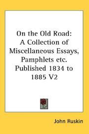 Cover of: On the old road
