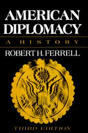 Cover of: American diplomacy