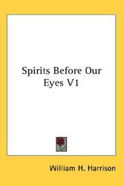 Cover of: Spirits Before Our Eyes V1
