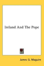 Cover of: Ireland And The Pope