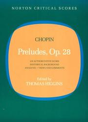 Cover of: Preludes Opus 28 | Frederic Chopin