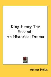 Cover of: King Henry The Second