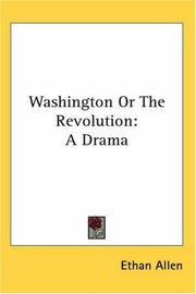 Cover of: Washington Or The Revolution