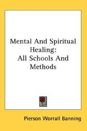 Cover of: Mental And Spiritual Healing