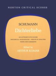 Cover of: Dichterliebe
