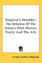 Cover of: Ringrose's Heraldry