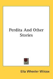 Cover of: Perdita And Other Stories