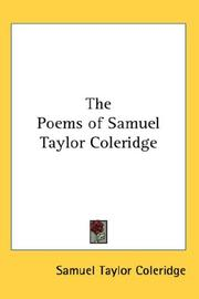 an analysis of the poems by samuel taylor coleridge