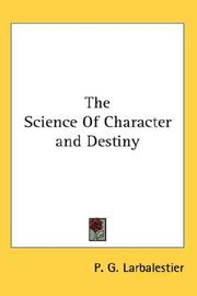 Cover of: Science Of Character and Destiny