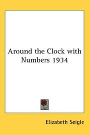 Cover of: Around the Clock with Numbers 1934