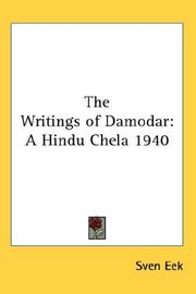 Cover of: The Writings of Damodar