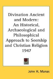 Cover of: Divination Ancient and Modern