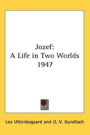 Cover of: Jozef