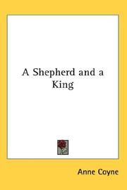 Cover of: A Shepherd and a King | Anne Coyne