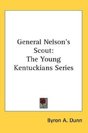 Cover of: General Nelson