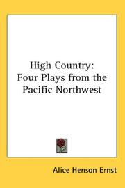 Cover of: High country