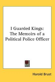 Cover of: I Guarded Kings