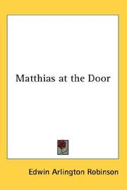 Cover of: Matthias at the Door