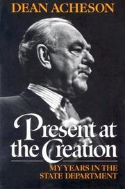 Cover of: Present at the Creation