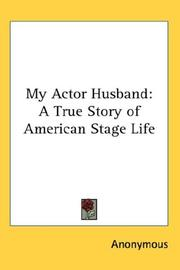 Cover of: My Actor Husband | Anonymous