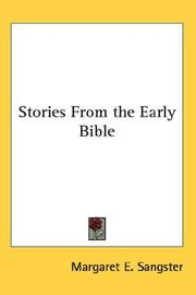 Cover of: Stories From the Early Bible