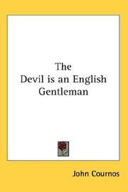 Cover of: The Devil is an English Gentleman | John Cournos