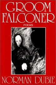 Cover of: Groom Falconer | Norman Dubie