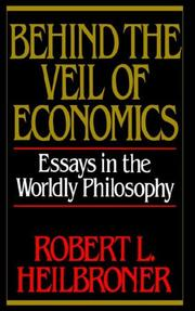 Cover of: Behind the veil of economics
