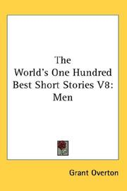 Cover of: The World's One Hundred Best Short Stories V8