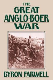 Cover of: The Great Anglo-Boer War | Byron, Farwell