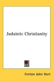 Cover of: Judaistic Christianity