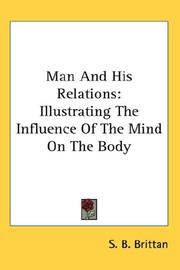 Cover of: Man And His Relations