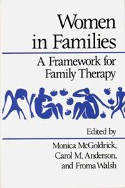 Cover of: Women in Families | Monica McGoldrick