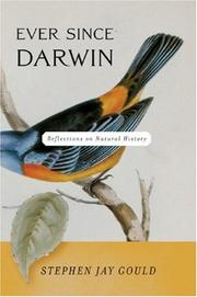 Cover of: Ever since Darwin
