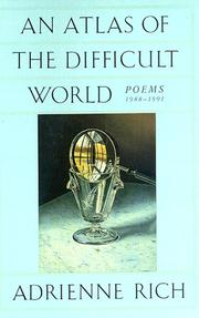 Cover of: An atlas of the difficult world