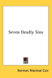 Cover of: Seven Deadly Sins | Norman Macleod Caie