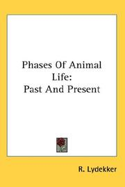 Cover of: Phases Of Animal Life | Richard Lydekker