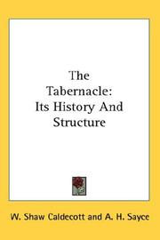 The Tabernacle by W. Shaw Caldecott