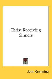 Cover of: Christ Receiving Sinners