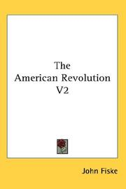 Cover of: The American Revolution V2