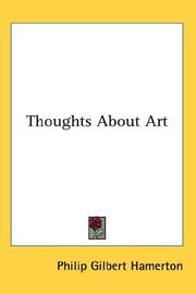 Cover of: Thoughts About Art | Hamerton, Philip Gilbert