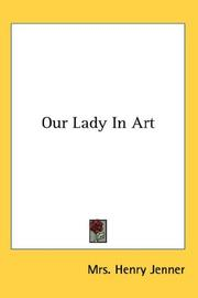 Cover of: Our Lady In Art
