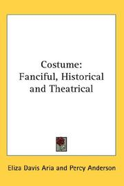 Cover of: Costume