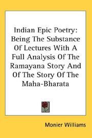 Cover of: Indian Epic Poetry