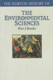 Cover of: Fontana history of the environmental sciences