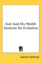 Cover of: God And His World | Samuel Calthrop