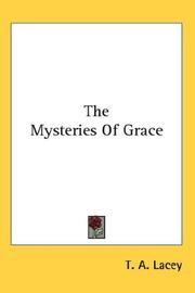 Cover of: The Mysteries Of Grace
