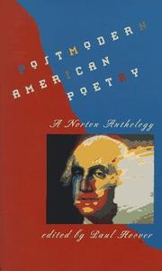 Cover of: Postmodern American poetry |