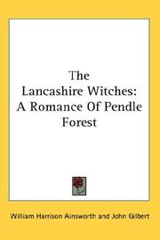 Cover of: The Lancashire witches